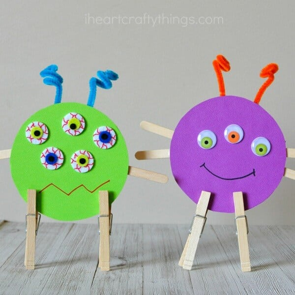 20 Easy Monster Treats And Crafts For Kids Happiness Is Homemade