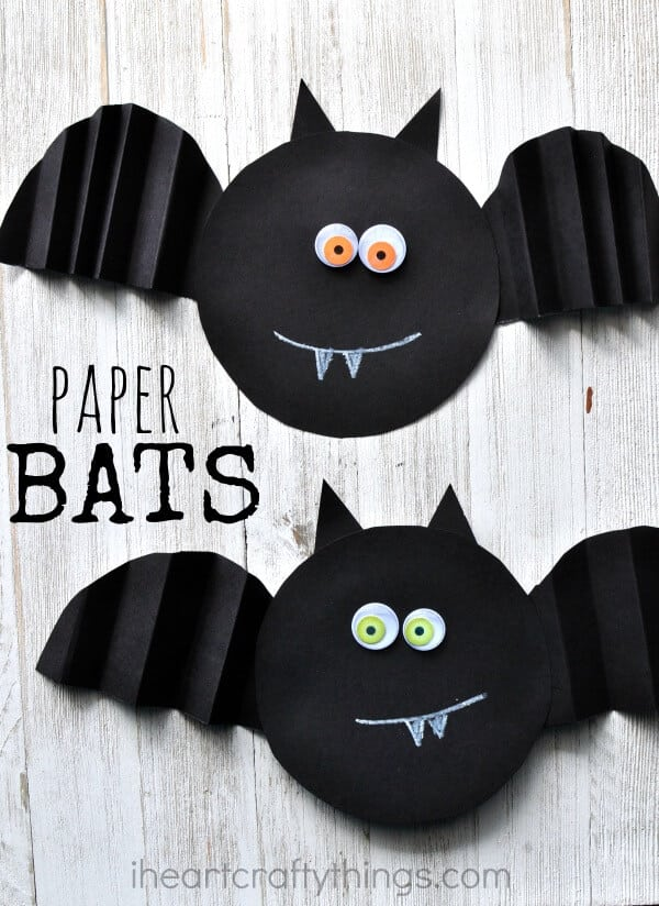 image regarding Halloween Crafts for Kids+free Printable known as Effortless Straightforward Halloween Crafts for Young children - Pleasure is Do-it-yourself