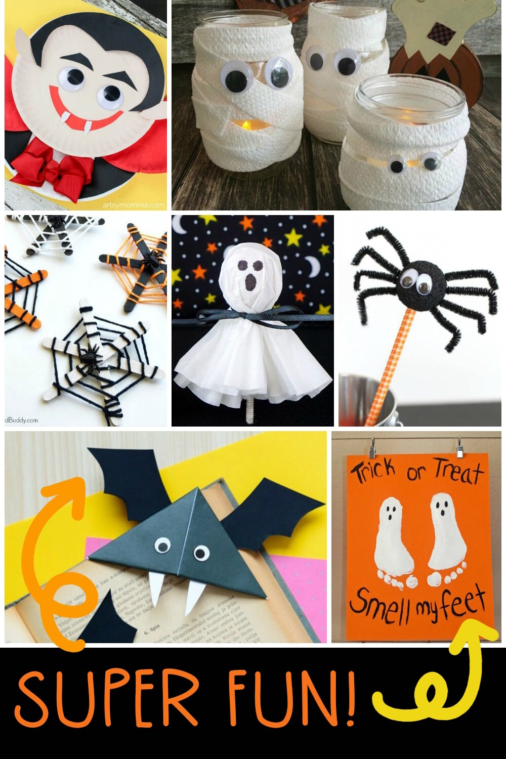 Quick Easy Halloween Crafts For Kids Happiness Is Homemade