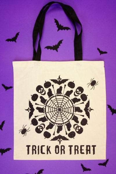 Halloween SVG Files + Trick or Treat Bag