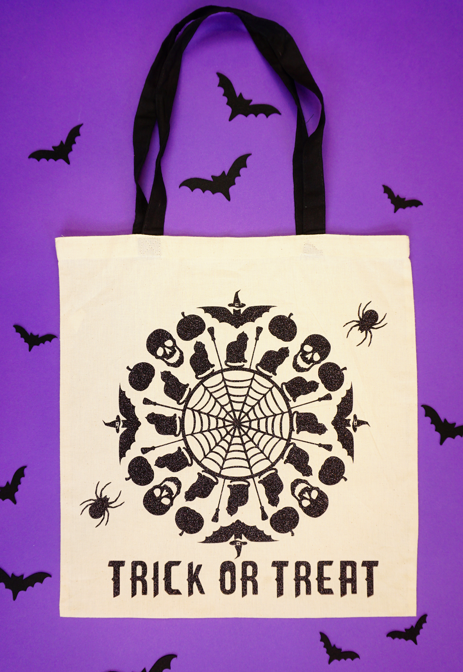 halloween svg files trick or treat bag happiness is homemade