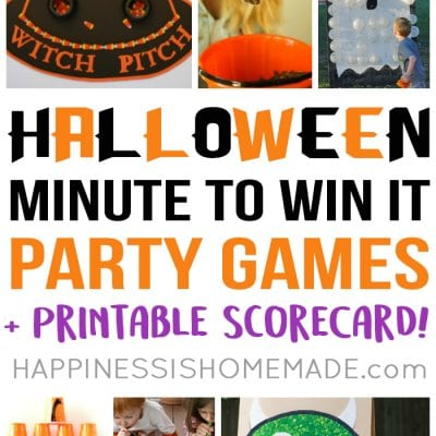 Minute to Win It Halloween Games