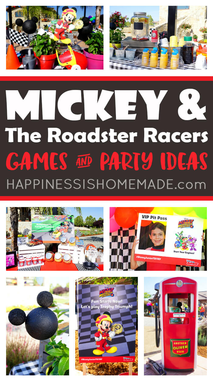 Looking for Mickey and the Roadster Racers party ideas? Check out these Mickey and the Roadster Racers games and ideas - party games, party decorations, yummy food, photo ops, party favors, and more!