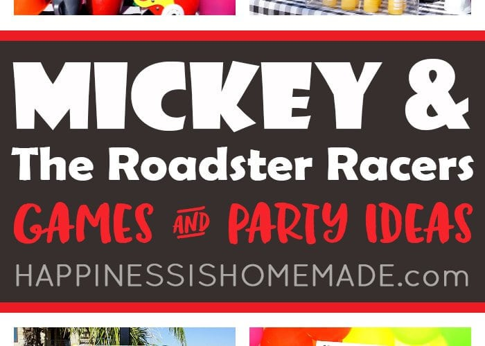 Mickey and the Roadster Racers Games + Party Ideas