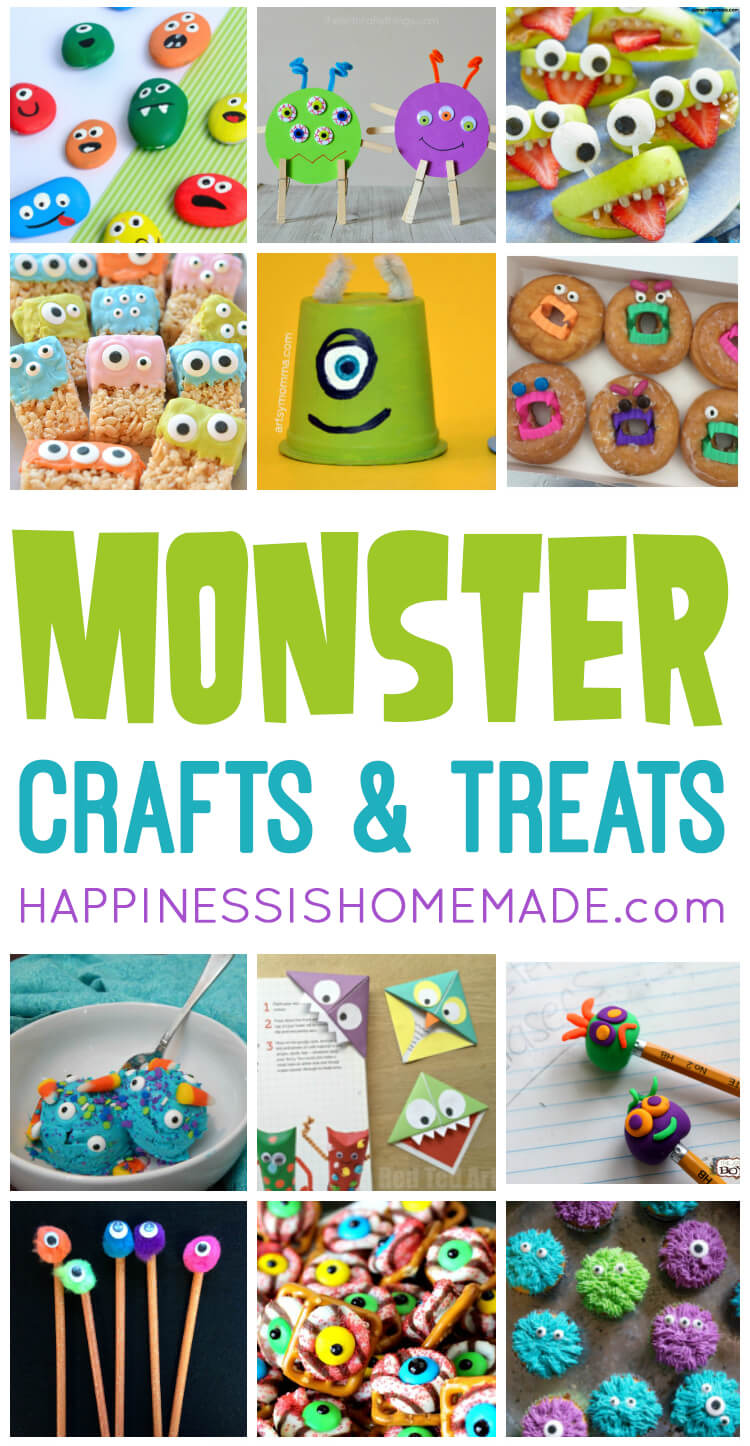 42173598b861b Quick & Easy Halloween Crafts for Kids - Happiness is Homemade