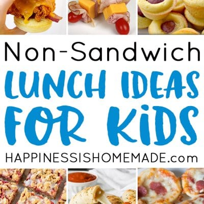 25 School Lunch Ideas for Kids