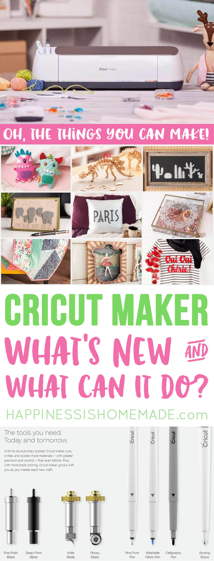 The Cricut Maker Machine - What's New and What Can It Do