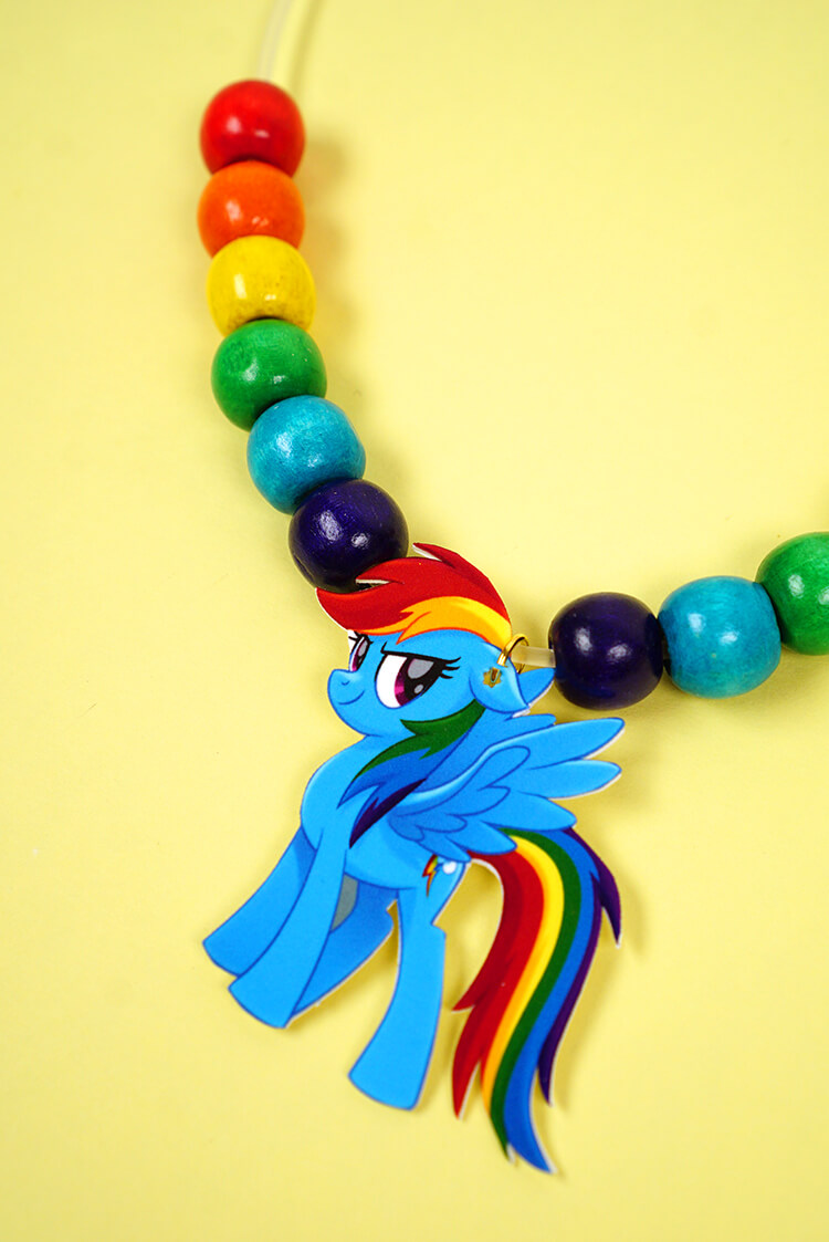 My little pony shrink plastic jewelry happiness is homemade rainbow dash is my favorite of the mane 6 i cant get enough of rainbows aloadofball Gallery