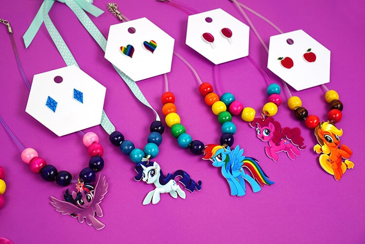 My Little Pony Jewelry Box Adorable My Little Pony Shrink Plastic Jewelry Happiness Is Homemade