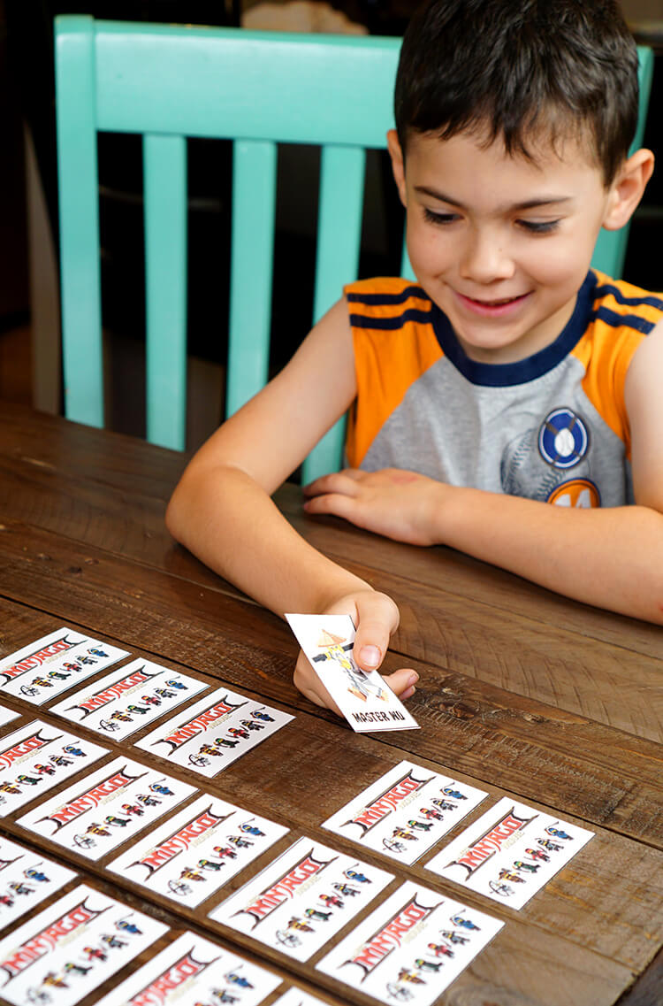 Match and learn memory game