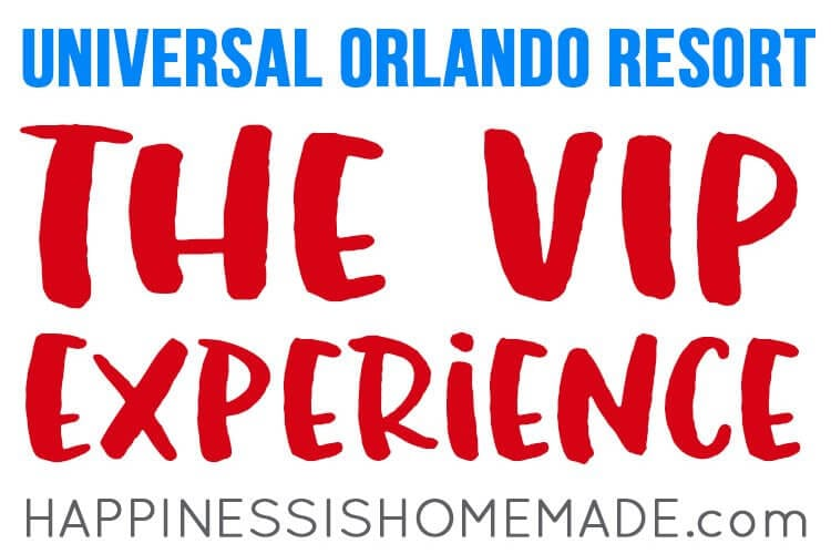 The VIP Experience at Universal Studios Florida and Universal's Islands of Adventure