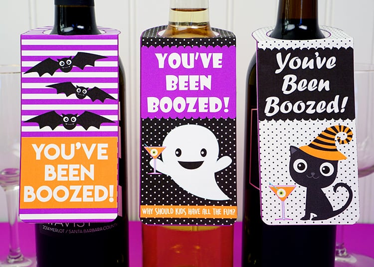 picture regarding You've Been Boozed Printable identify Youve Been Boozed\
