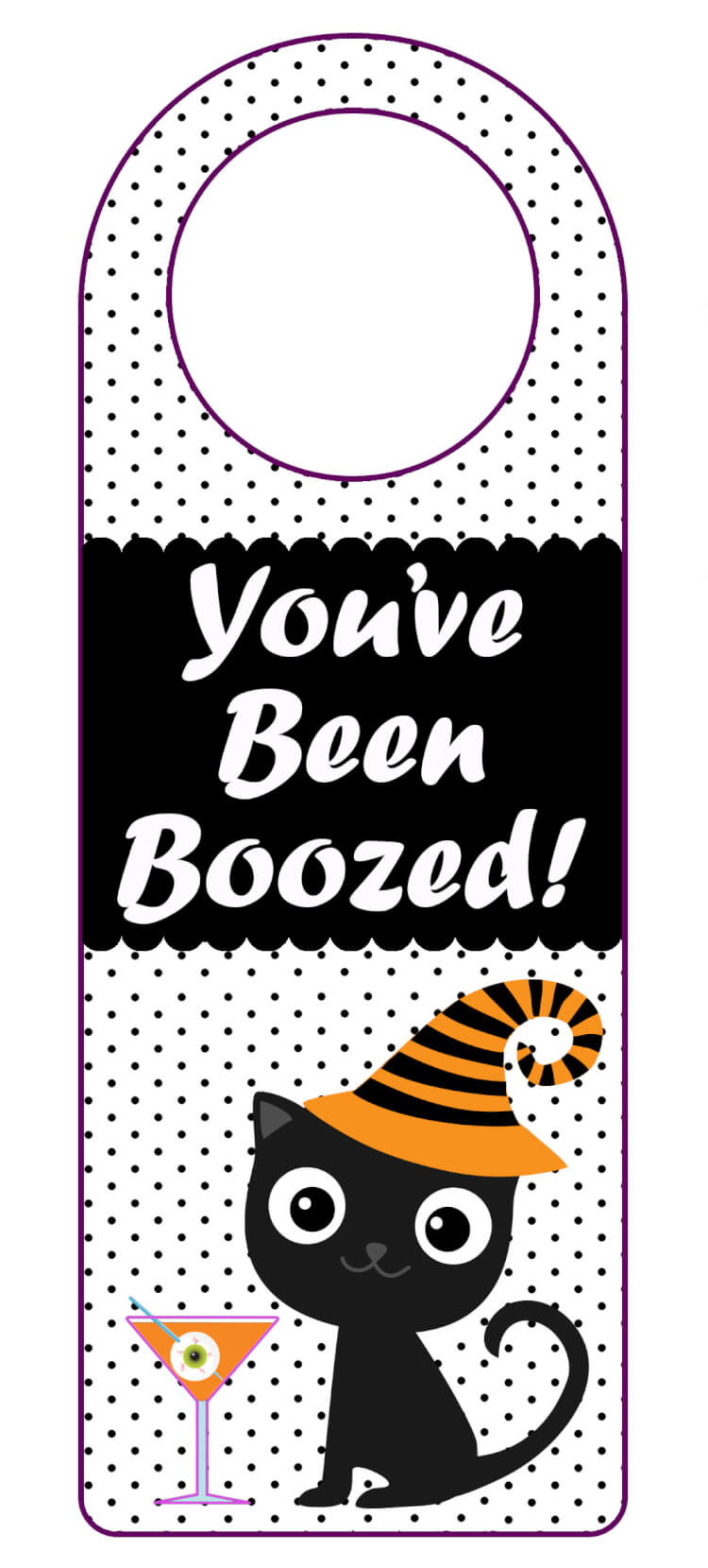picture regarding You've Been Boozed Printable named Youve Been Boozed\