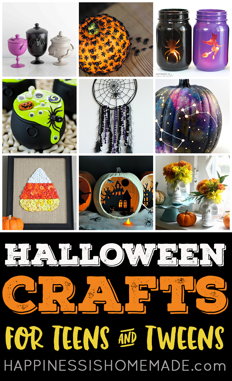 Easy Halloween Crafts For Teens Happiness Is Homemade