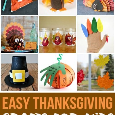 Easy Thanksgiving Crafts for Kids
