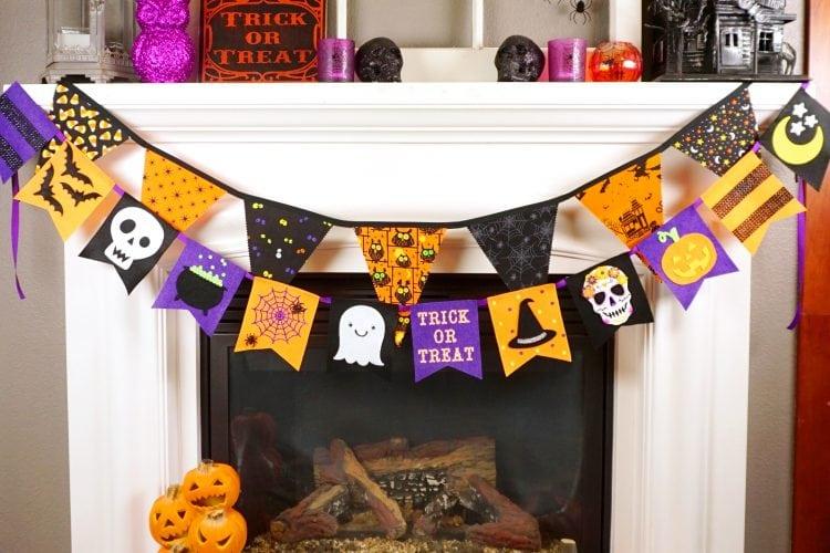 Felt Halloween Banner