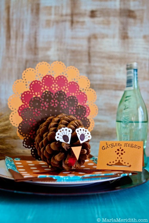 Easy thanksgiving crafts for kids to make happiness is