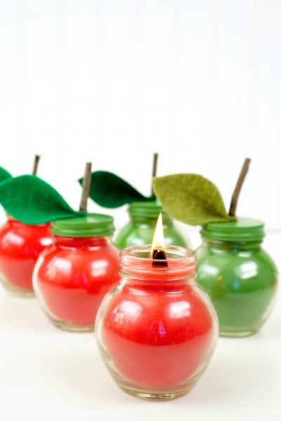 Apple Spice Candles