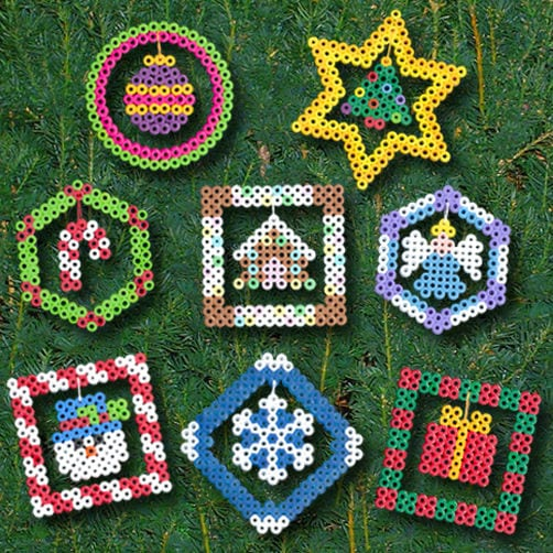 Image result for Perler Bead Ornaments
