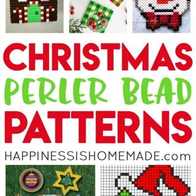 Christmas Perler Bead Patterns & Ideas