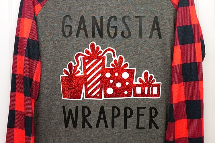 Funny Christmas Shirts with Cricut + Free Cut Files!