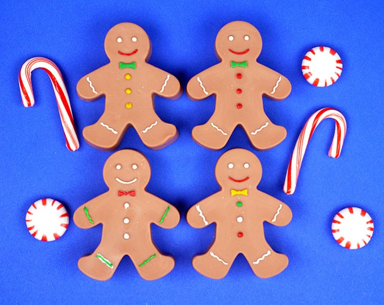 These Easy Gingerbread Man Soaps Are Perfect For Holiday Gift Giving And Im Sure Theyll Be A Huge Hit With Your Family Friends