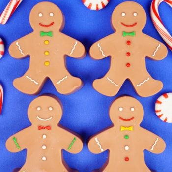 15-Minute DIY Gingerbread Man Soaps