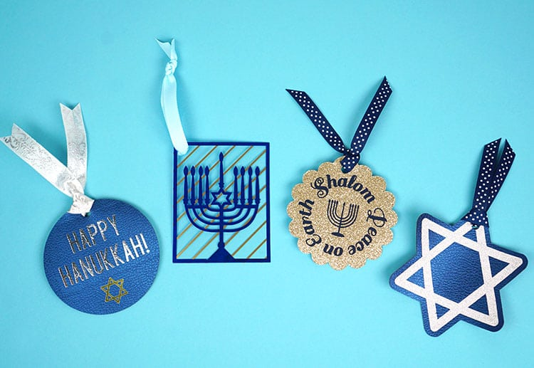 hanukkah gift tags with cricut happiness is homemade