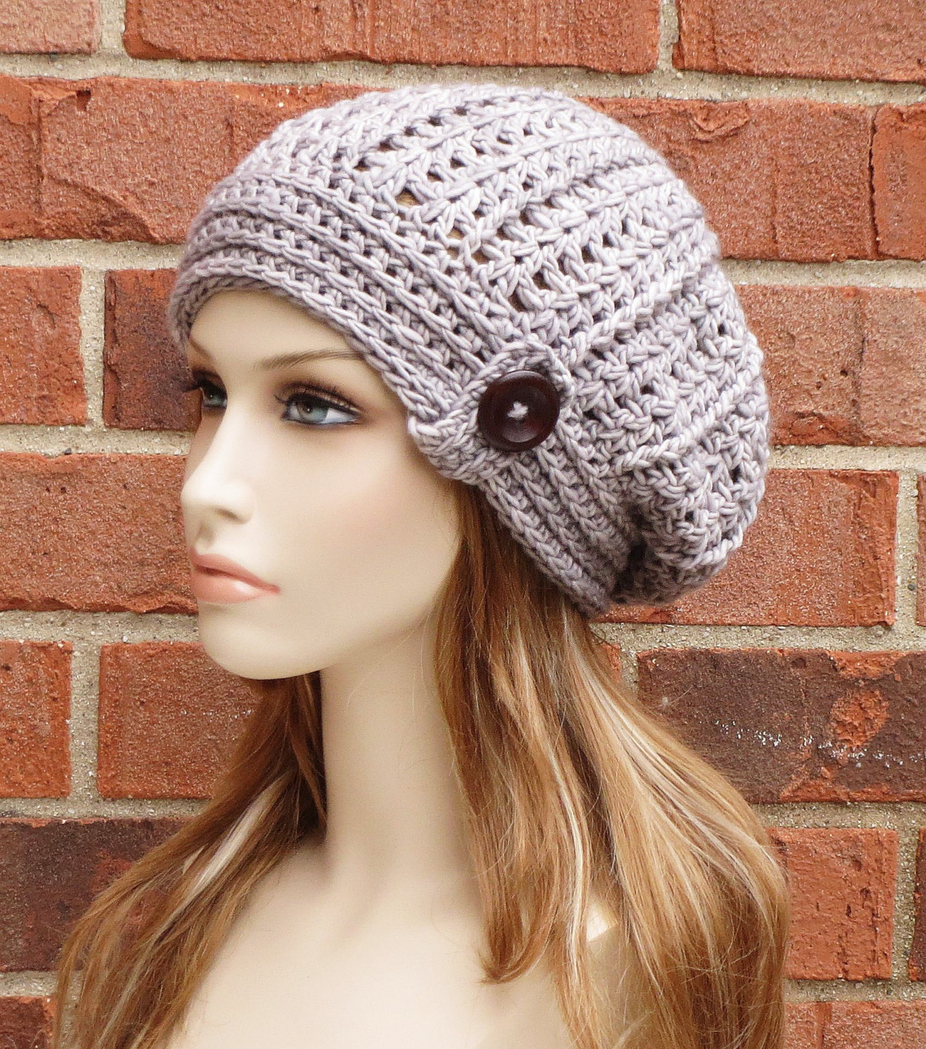Crochet hat patterns happiness is homemade crocheted newsboy hat in children and adult sizes bankloansurffo Images