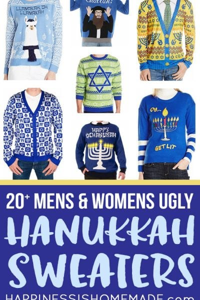 20+ Ugly Hanukkah Sweaters