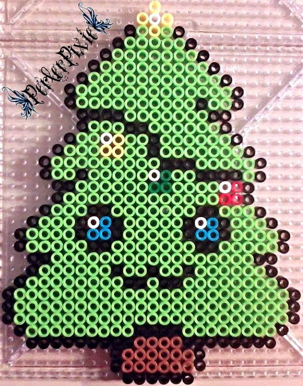 Christmas Hama Beads.Christmas Perler Bead Patterns Ideas Happiness Is Homemade