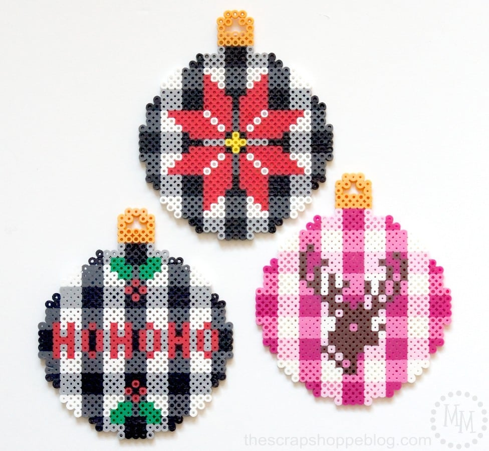 Christmas Perler Bead Patterns & Ideas - Happiness is Homemade
