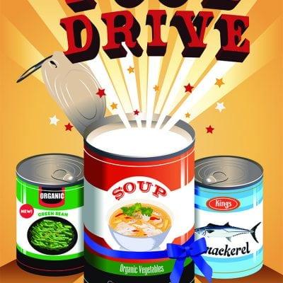#LightTheWorld and #FeedTheHungry Food Drive