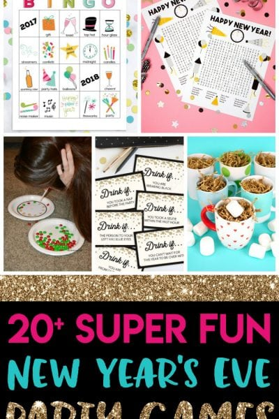 20+ Fun New Year's Eve Games