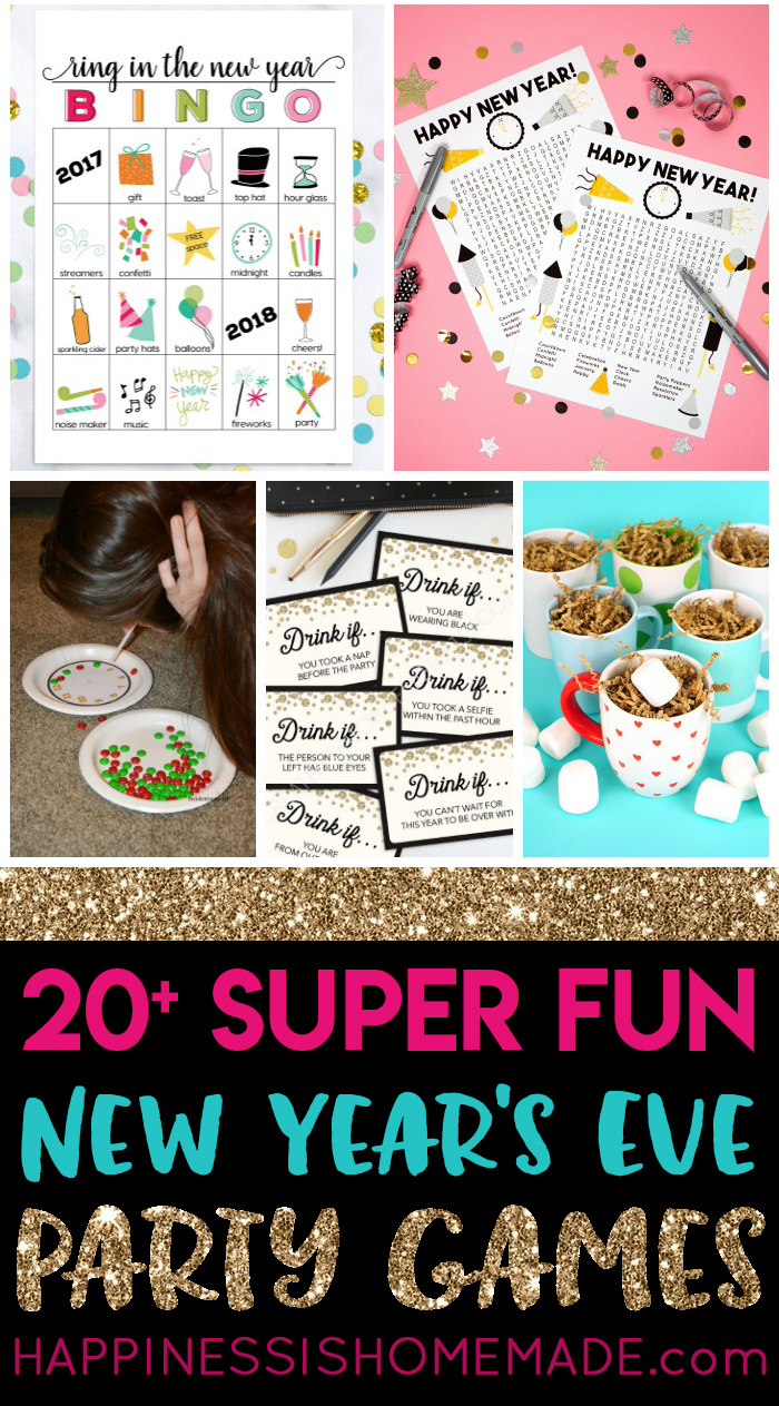 planning a new years eve party we love these awesome new years eve games that are great for all ages and activity levels theres a new years eve party