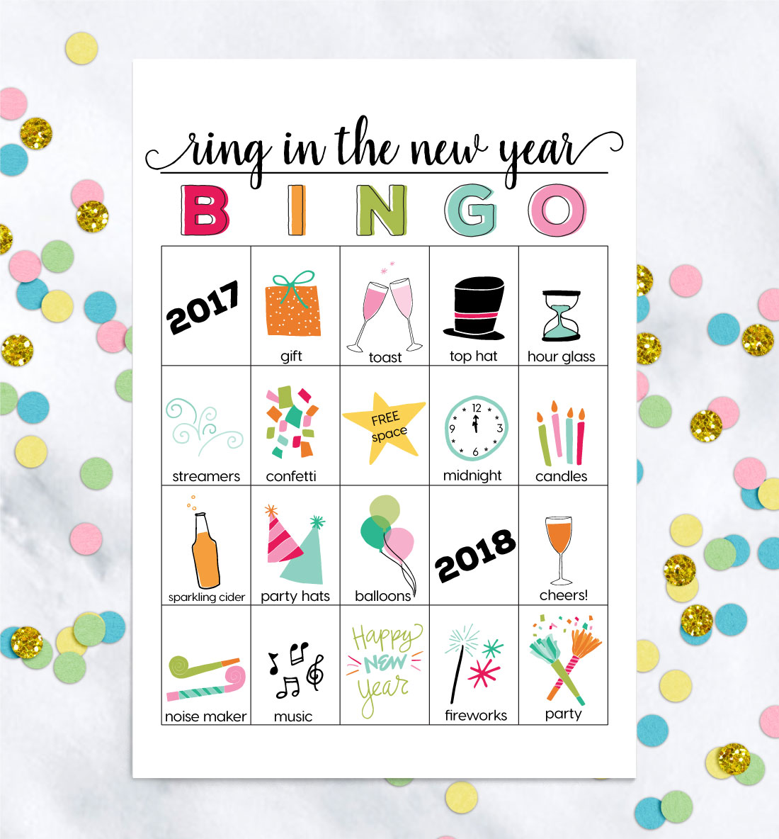 printable new years eve bingo by thirty handmade days