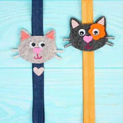 Easy Craft for Kids: Cat Bookmarks
