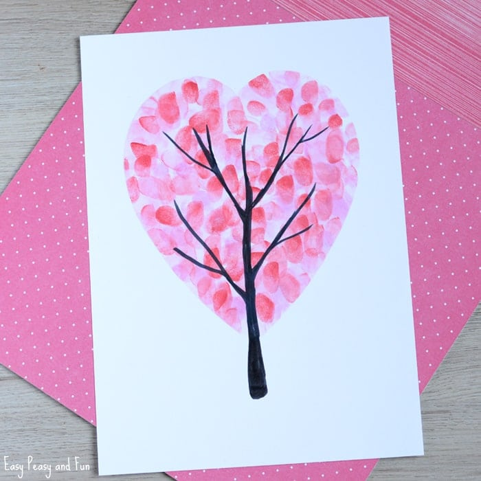 20 Easy Valentine Crafts For Kids Happiness Is Homemade
