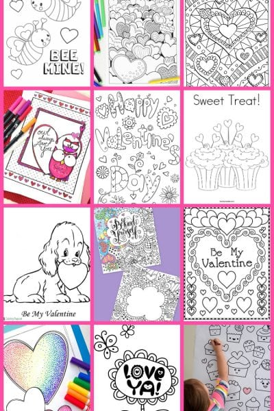 Free Valentines Coloring Pages