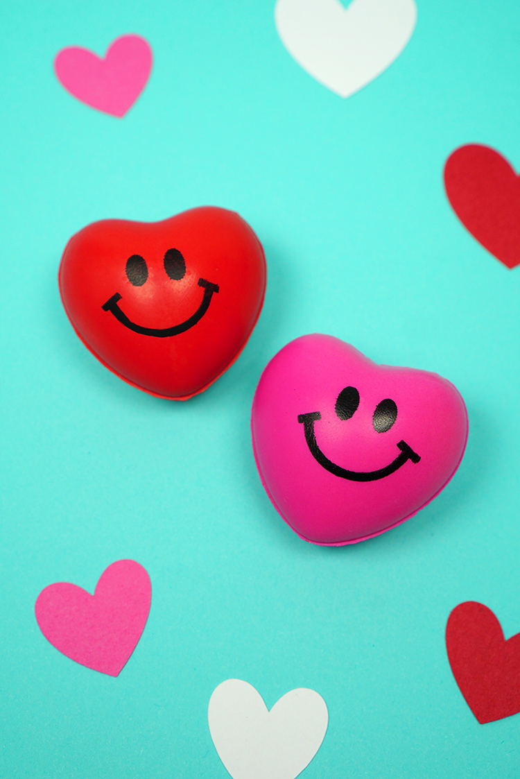 Squishy Heart Valentine Cards - Happiness is Homemade