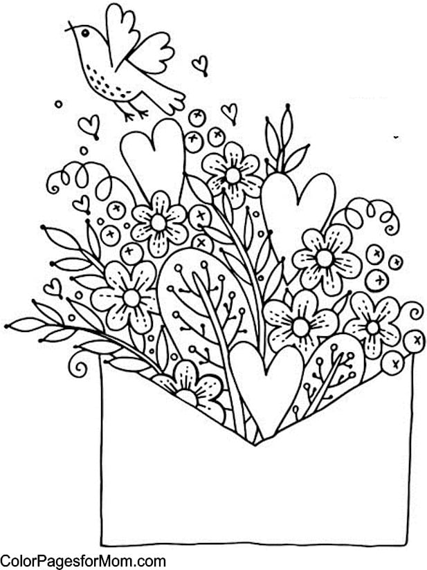 Valentines Coloring Pages Happiness Is Homemaderhhappinessishomemade: Coloring Pages For Valentines Day At Baymontmadison.com