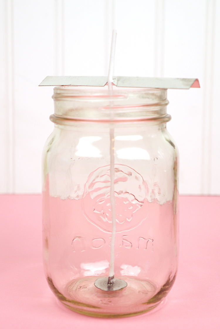 DIY Mason Jar Candles - Happiness is Homemade