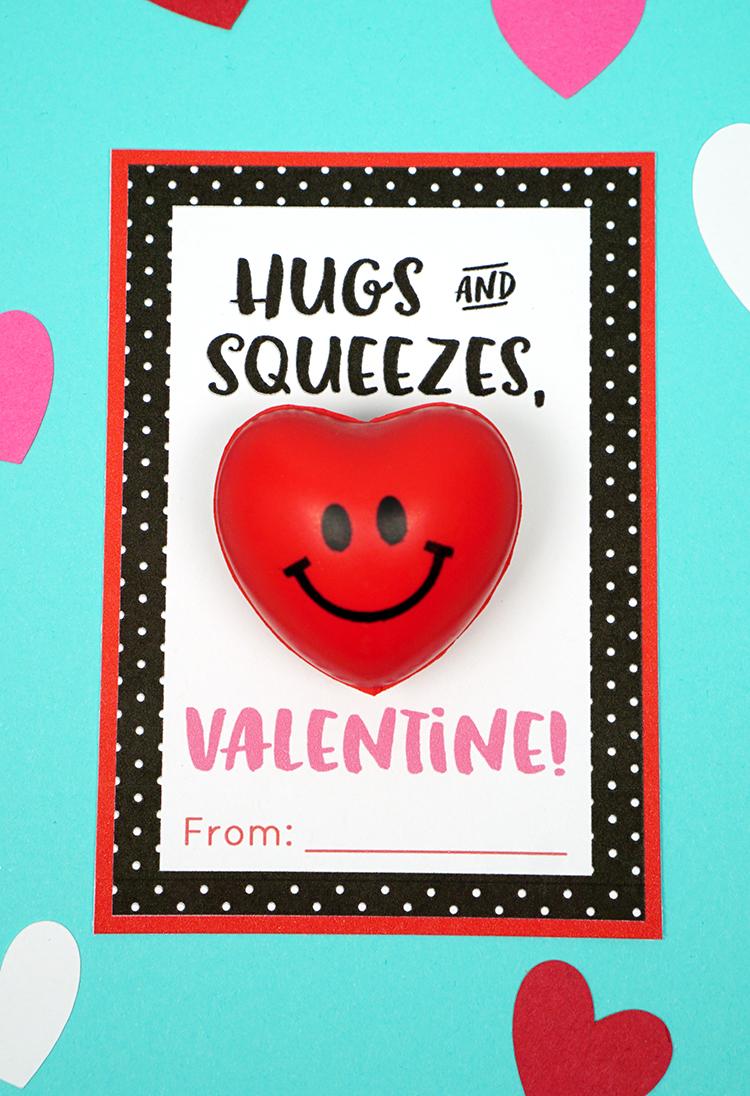 squishy heart valentine cards