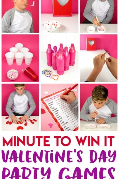 Valentine Minute to Win It Games