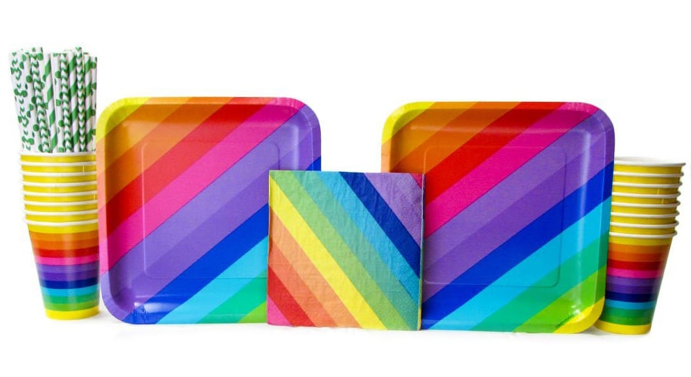 Rainbow Party Supplies Are Also A Great Choice