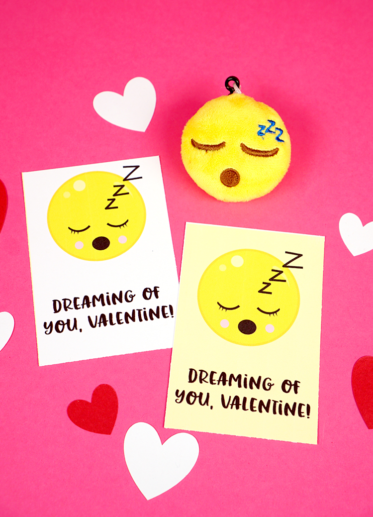 image about Printable Emoticons Free named Emoji Valentine Playing cards - Joy is Home made