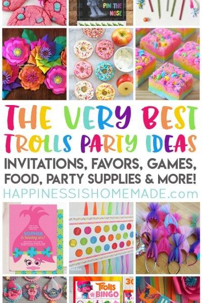 The Best Trolls Birthday Party Ideas