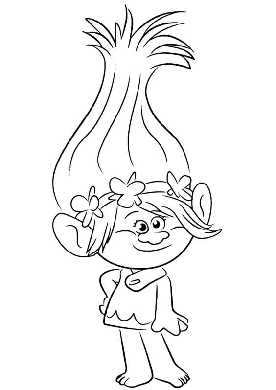 Find Lots Of FREE Trolls Coloring Pages Here For A Fun And Inexpensive Party Activity