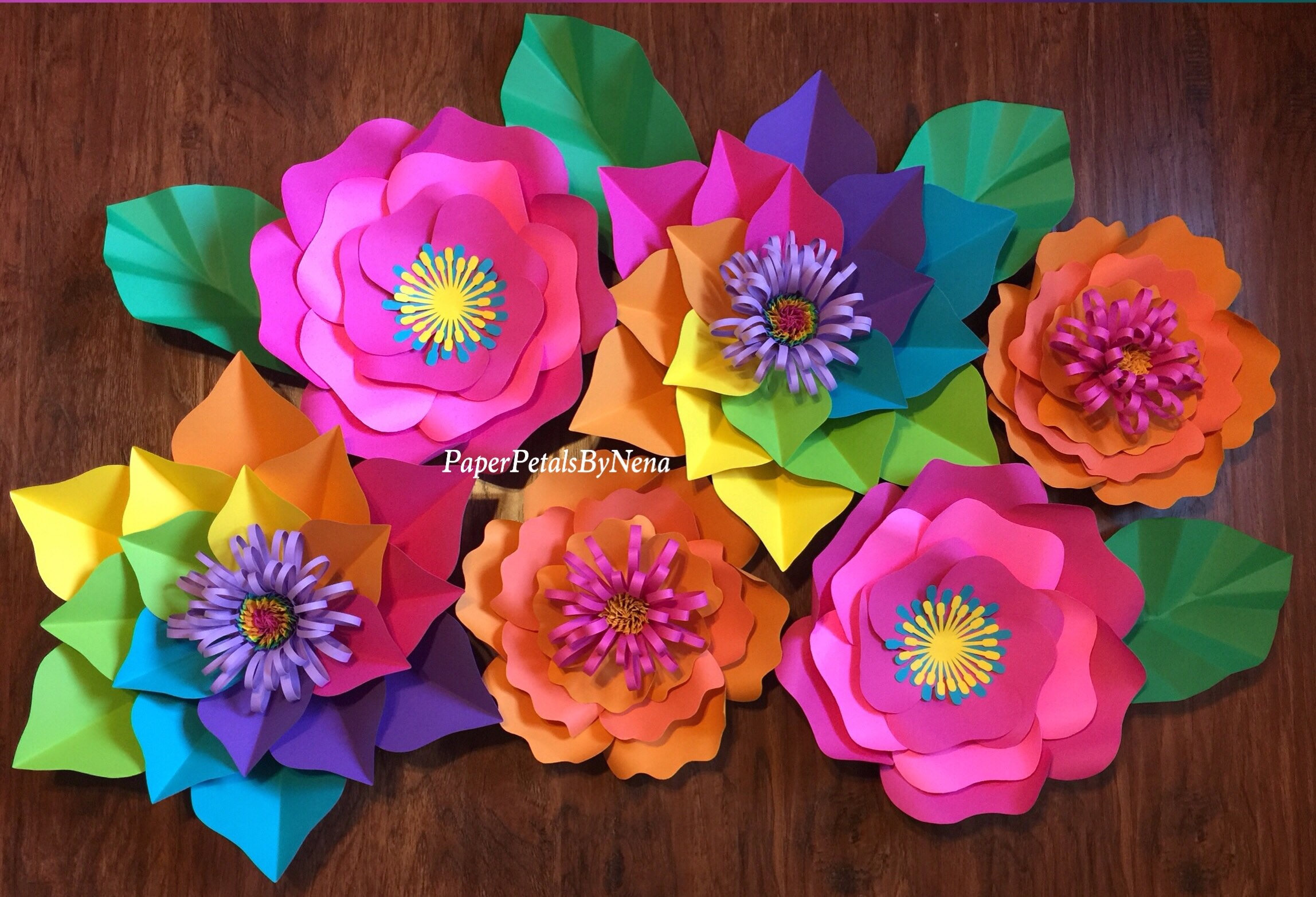 These Gorgeous Paper Flowers From Petals By Nena Come In All Shapes And Colors Would Make Perfect Party Decorations If Youd Rather DIY Your Own
