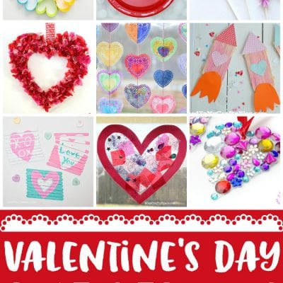 20+ Easy Valentine Crafts for Kids